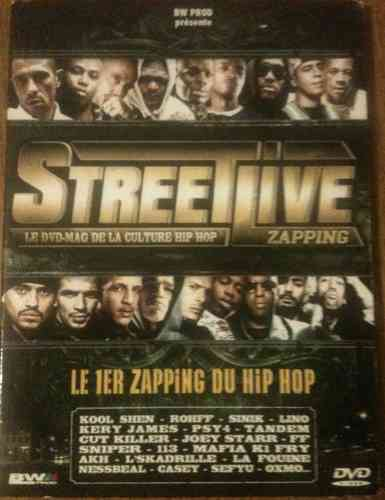 DVD streetlive culture hip hop