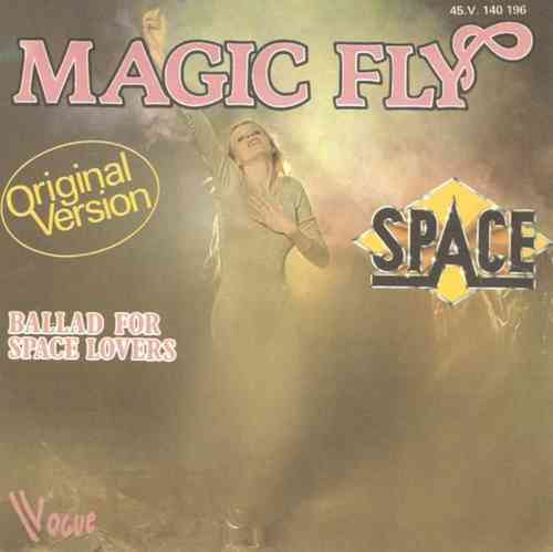 VINYL45T space magic fly 1977