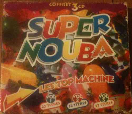 COFFRET 3 CD super nouba les top machine