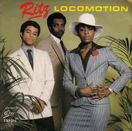 VINYL45T ritz locomotion 1979