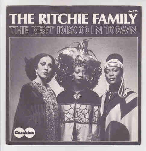 VINYL 45T the richie family the best disco in town
