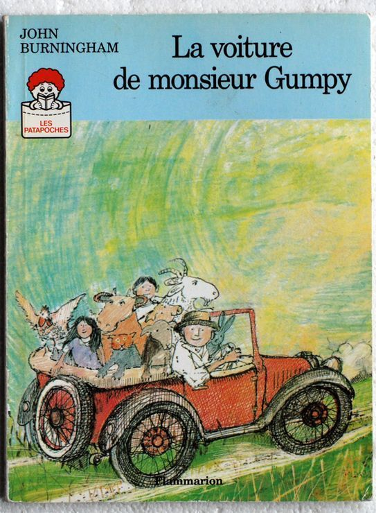 vente livre john burningham la voiture de monsieur gumpy vente livre occasion vente livre. Black Bedroom Furniture Sets. Home Design Ideas