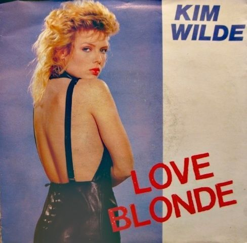 VINYL45T kim wilde love blonde 1983