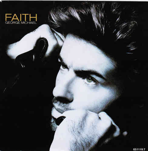 VINYL 45T george michael faith 1987