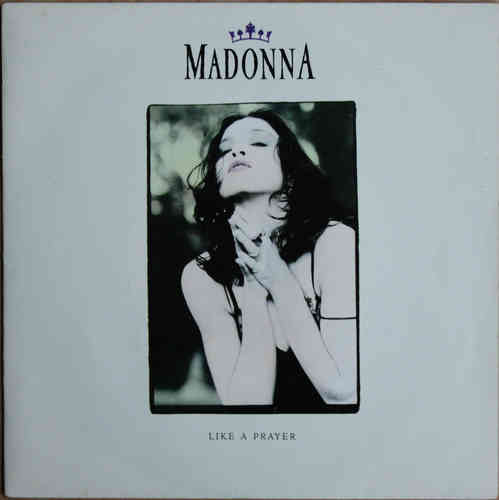 VINYL45T madonna like prayer 1989