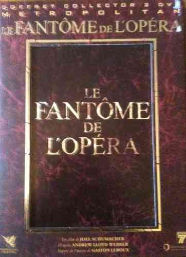 Double DVD collector le fantome de l'opéra