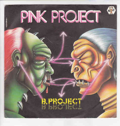 VINYL45T pink project b project