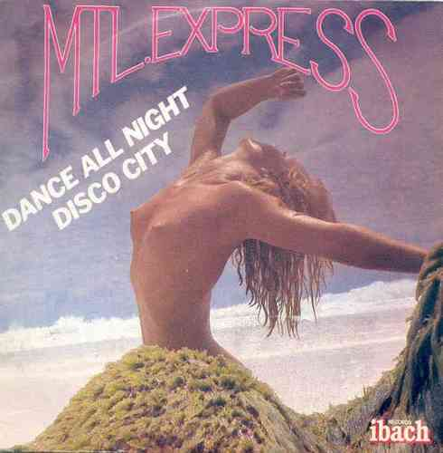 VINYL45T mlt express  dance all night 1979