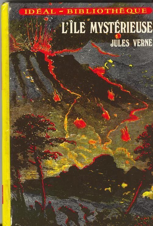 Livre Jules Verne L Ile Mysterieuse Ideal Bibliotheque