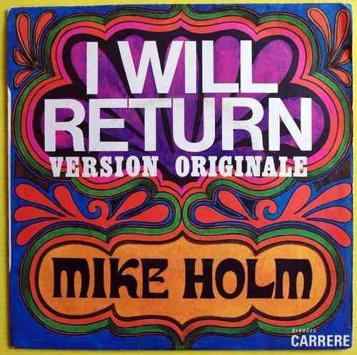 VINYL45T mike holm i will return