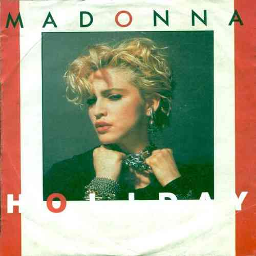 VINYL 45T madonna holiday 1983