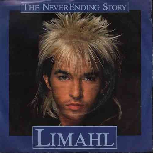 VINYL45T limahl the neverending story 1984