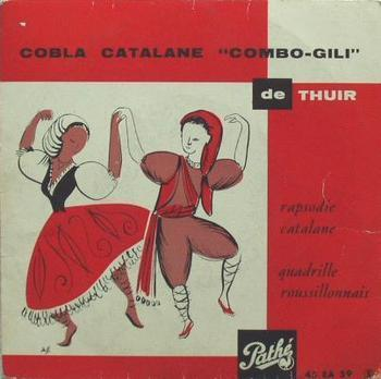 VINYL45T combo gili coble catalane de thuir