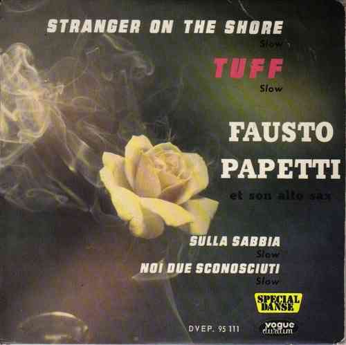 VINYL  45T fausto papetti stranger on the shore