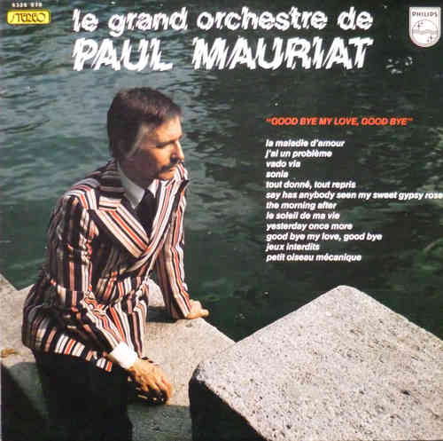 VINYL33T Paul mauriat good bye my love good bye 1974
