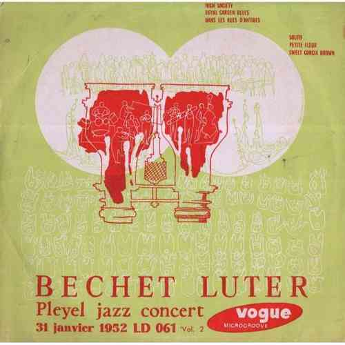 VINYL33T bechet luther pleyel jazz concert 1952 vol 2