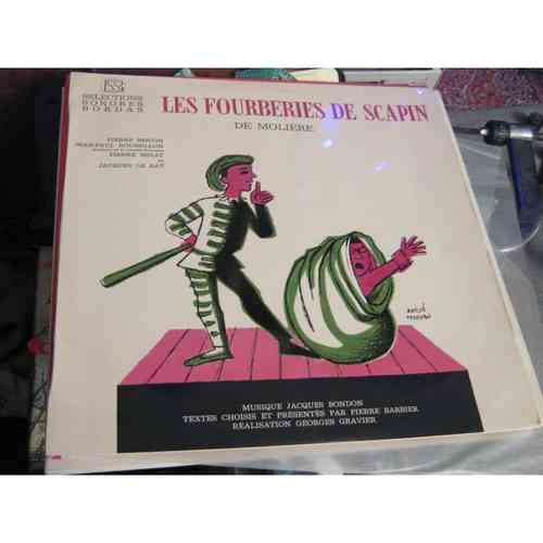 VINYL33T les fourberies de scapin bordas 1960