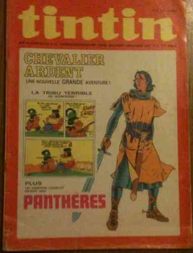 BD Le journal de Tintin n 5 1972