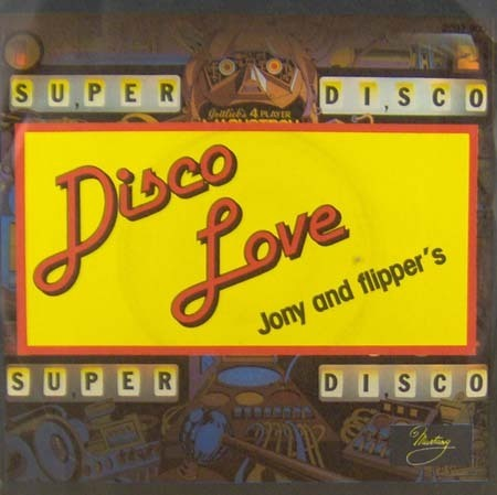VINYL45T jony and flippers disco love 1977