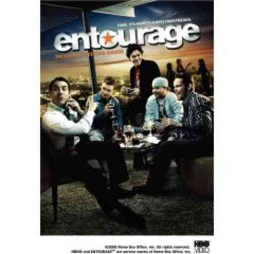 3 DVD entourage the complete second season