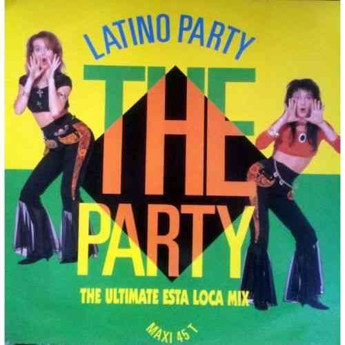 VINYL45T latino party the party 1990