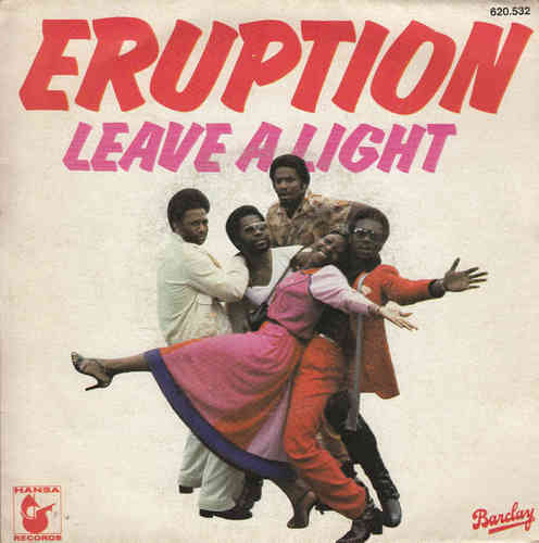 VINYL45T éruption leave a light 1978