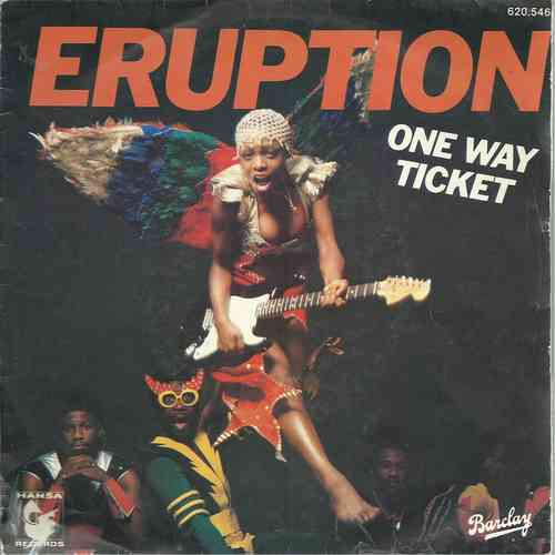 VINYL45T eruption one way ticket 1979
