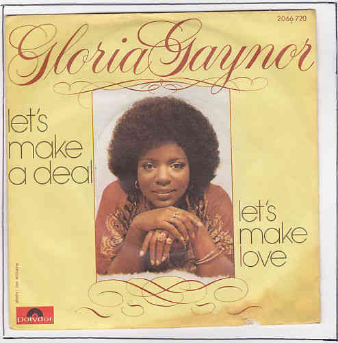 VINYL45T gloria gaynor let s make a deal 1976