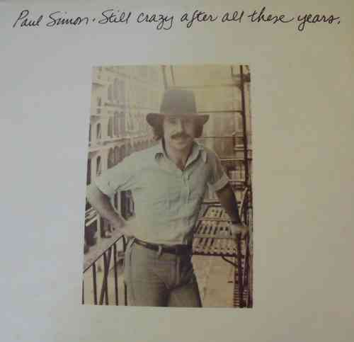VINYL 33 T paul simon still crazy after qls these years