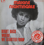 VINYL 45T maxime nightingale right back where started from 1975