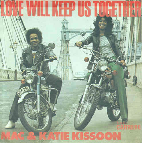 VINYL45T mac and katie kissoon love will keep us together 1976