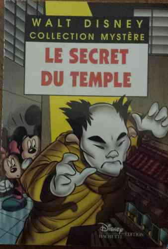 LIVRE Walt Disney le secret du temple 2000 n°23
