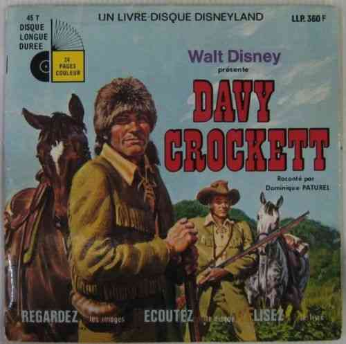 VINYL45T Dominique paturel davy crockett 1972