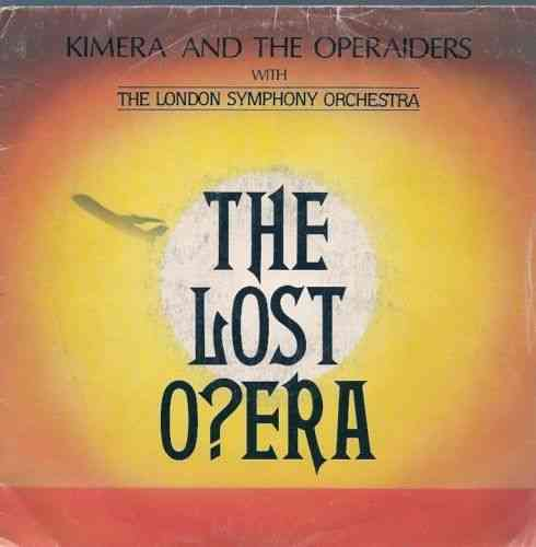VINYL45T kimera and the operaiders the lost opera