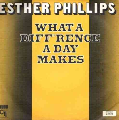 VINYL45T esther phillips what a diff'rence a day makes 1975