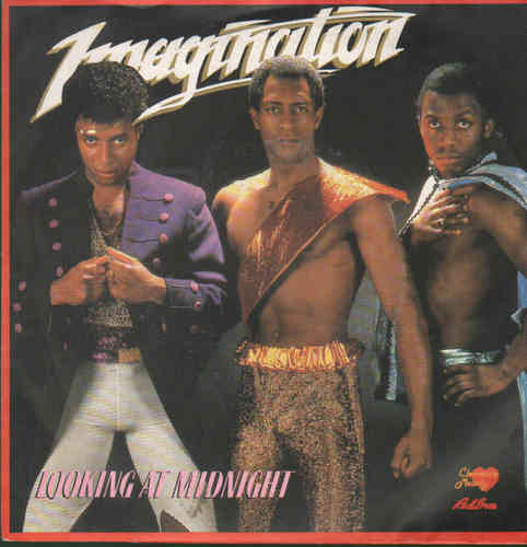 VINYL45T imagination looking at midnight 1983