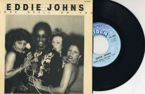VINYL45T eddie johns more spell on you 1978