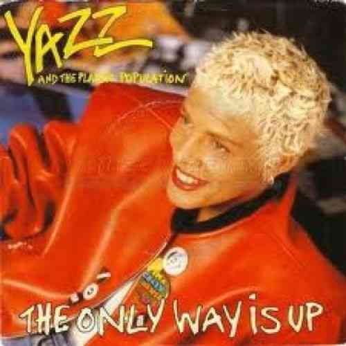 VINYL45 T yazz the only wayisup 1988