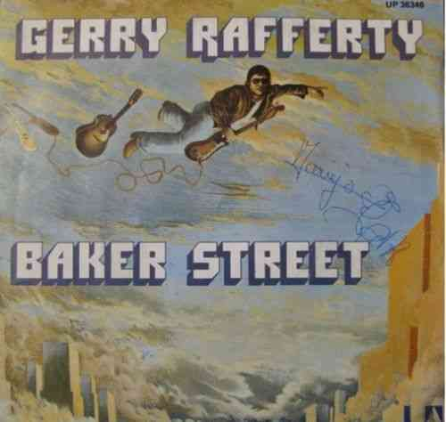 VINYL45T gerry rafferty baker street 1978