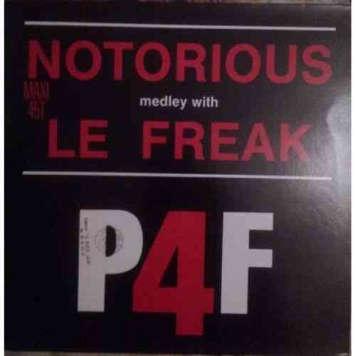 VINYL45T p4f notorious with le freak 1987