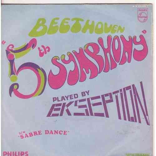 VINYL45T ekseption 5 th symphony