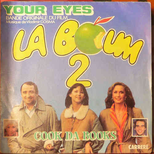 VINYL45T la boum 2 your eyes BO film 1983