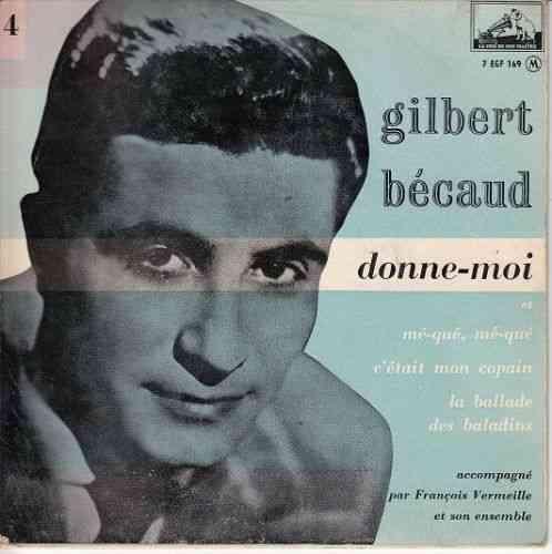 VINYL CD gilbert becaud - vinyl gilbert becaud-gibert becaud vinyl
