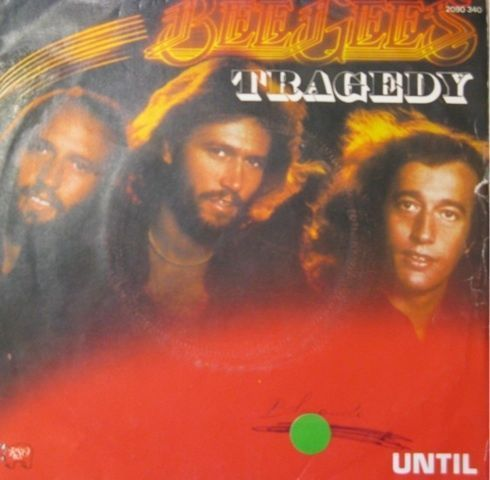 VINYL45T bee gees tragedy 1979