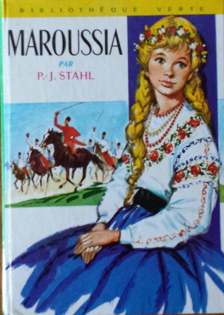 Livre P J Stahl Maroussia Bibliotheque Verte