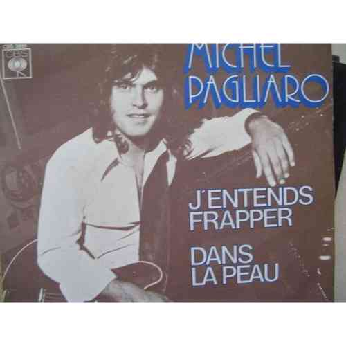 VINYL45T Michel pagliaro j'entends frapper 1975