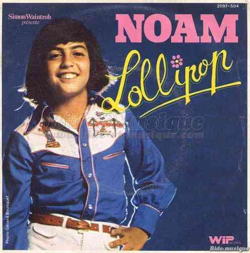 VINYL45T noam lollipop 1975
