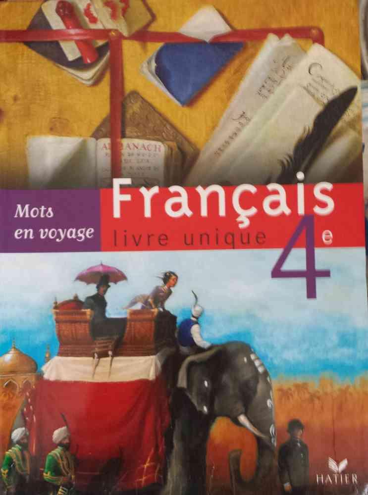 Livre Francais Livre Unique 4eme Hatier