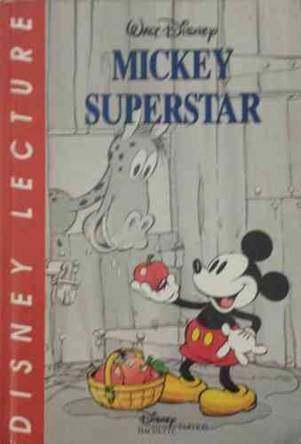 LIVRE Walt Disney mickey superstar n 4