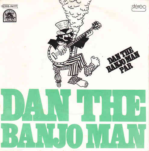 VINYL45 T dan the banjo man dan the banjo man 1973